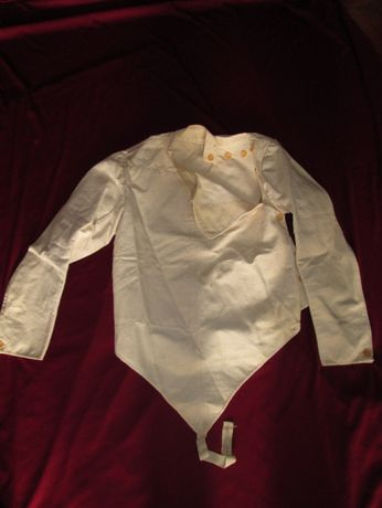 Casaco de esgrima antigo - Anos 60/70 - Militar