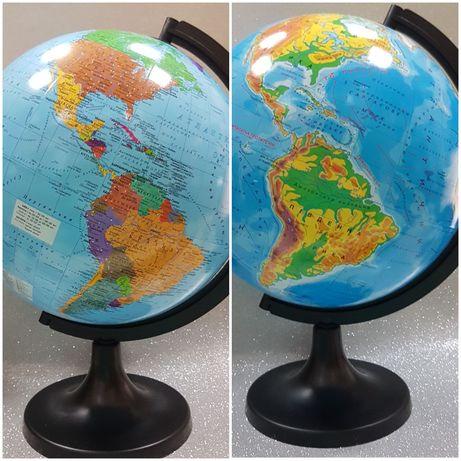 Глобус Большой 32см Политический Географический Подарунок  Новий
