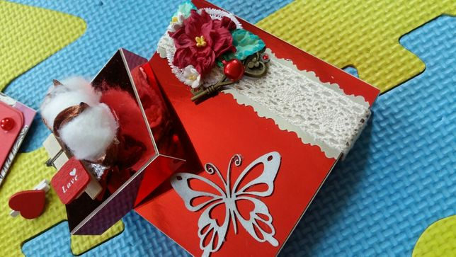 Коробка сюрприз на заказ. Magicbox. Коробочка. Подарок ко дню матери.