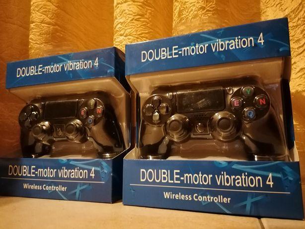 Comando PS4 WIRELESS x2 Motor Vibratório (NOVO)