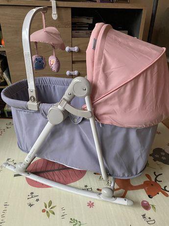 Leżaczek bujaczek krzesełko Kinderkraft UNIMO 5w1