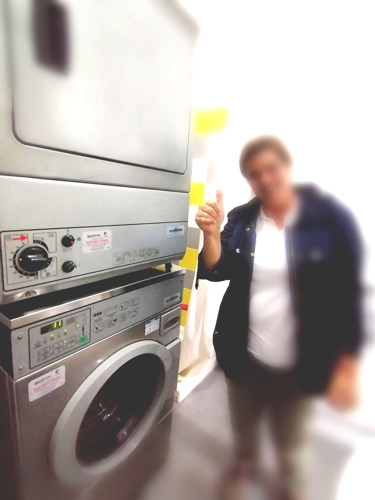 Alojamento local lavandaria industriais e self service