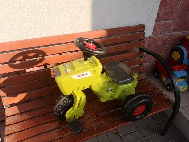 Claas traktorek traktor chodzik rower