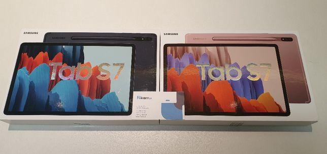 """Nowy SAMSUNG GALAXY TAB S7 T875 LTE 11"""" 8/256GB FV23% Gwarancja 24m"""