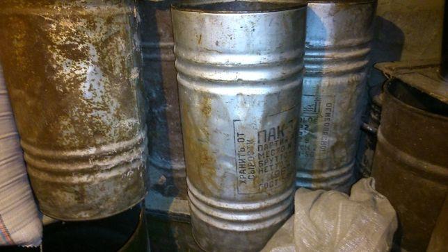 Бочки металлические 40-100л