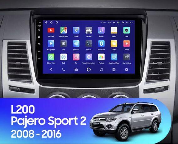 Магнитола Mitsubishi Pajero Sport2/L200 (2008-2016)