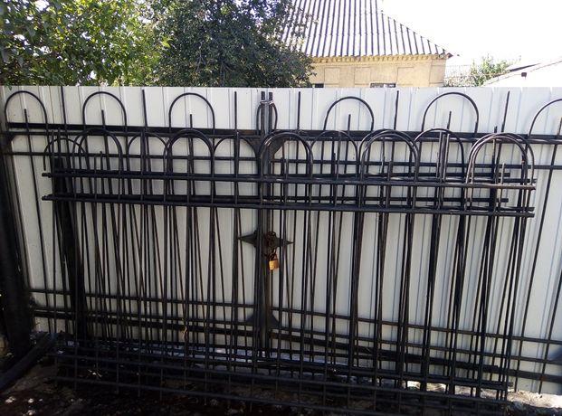 Забор металлический, 10 метров