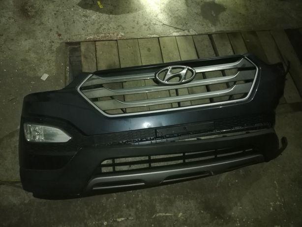 Бампер Hyundai Santa Fe 2012-2016
