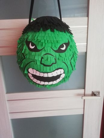 Piniata Hulk! Kazdy wzór