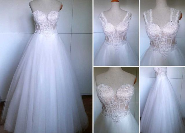 Suknia ślubna włoska