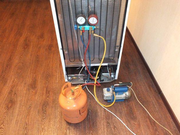 Заправка авто кондиционеров ремонт холодильников Соледар Часов Яр