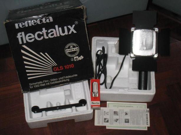 Projector Luz Profissional GLS1010 Reflecta 1000w mão ou tripé estudio