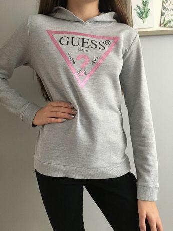 Bluza szara Guess roz 164