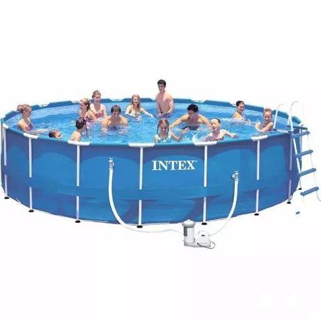 Бассейн басейн Intex. Сборный Metal Frame 549x122 см