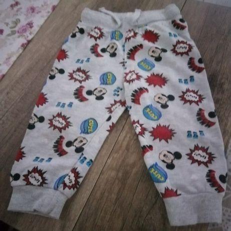 Dresowe spodnie 86