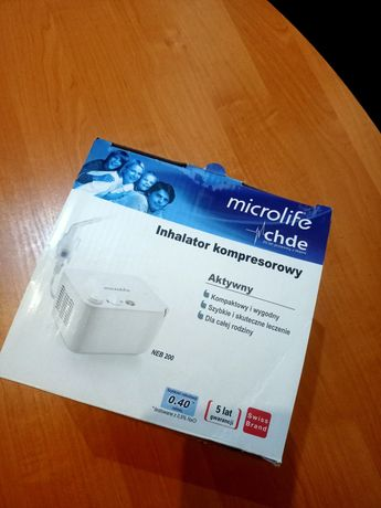 Inhalator Microlife NEB 200 nowy nieużywany