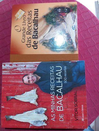 Conjunto de 2 livros de cozinha