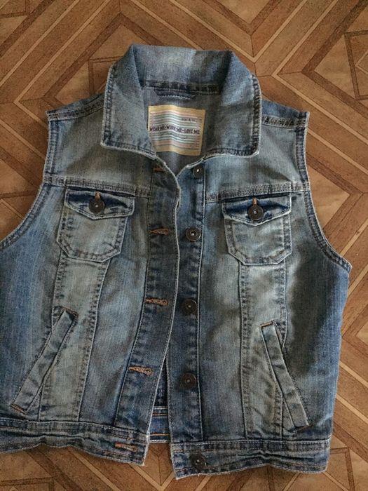 Жилетка джинсовая Бровары - изображение 1