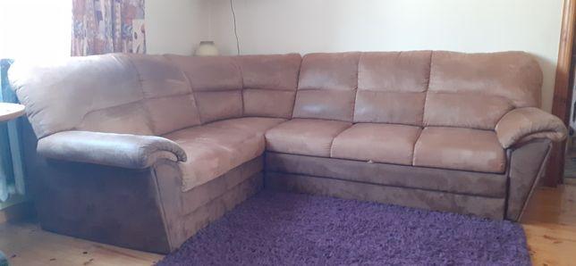 Sprzedam narożnik i sofe 2-osobową z funkcja spania