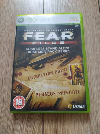 Xbox gra FEAR Files