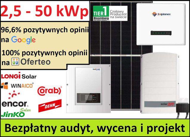 Instalacje Fotowoltaiczne - od 2,5 do 50 kWp