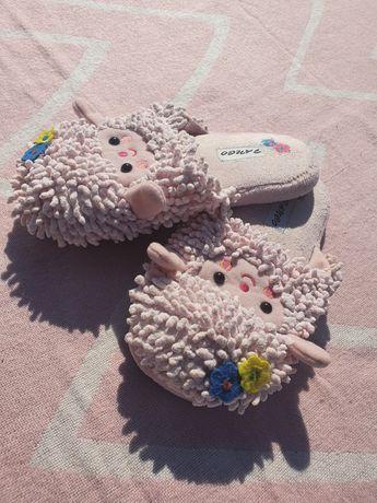 Kapcie - owieczki