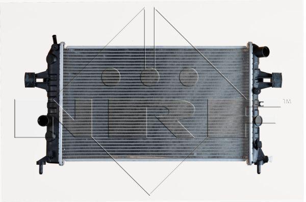 Радіатор охолодження Опель Opel Astra F,J,H,G vectra Zafira A/B зафіра