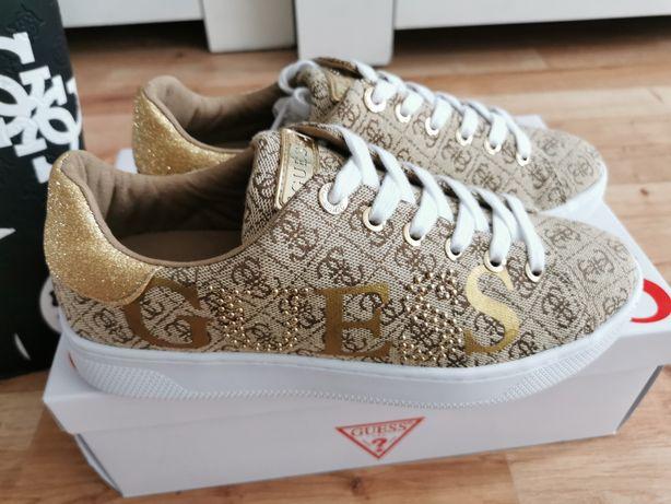 Nowe buty trampki firmy Guess 38