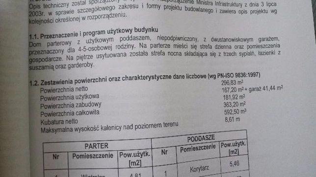 "Projekt domu "" INEZ """
