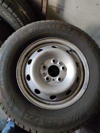 Opony letnie Michelin Fulda 215/70/R15c fiat Ducato Jumper felgi 15