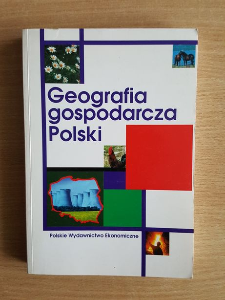 """PODRĘCZNIK """"Geografia gospodarcza Polski"""" Irena Fierli, książka"""