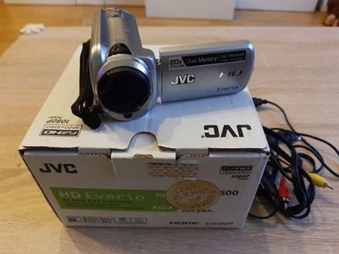 Kamera cyfrowa Full HD JVC Everio GZ-HD500