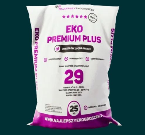 Ekogroszek Premium Plus Kup Lokalnie Transport Gratis