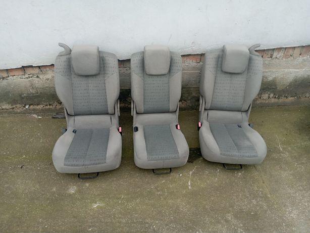 Сідушки салон сиденья Renault Scenic комплект 3 шт Сценік Рено