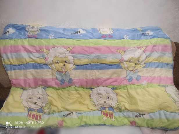 Детское одеяло зимнее на холлофайбере