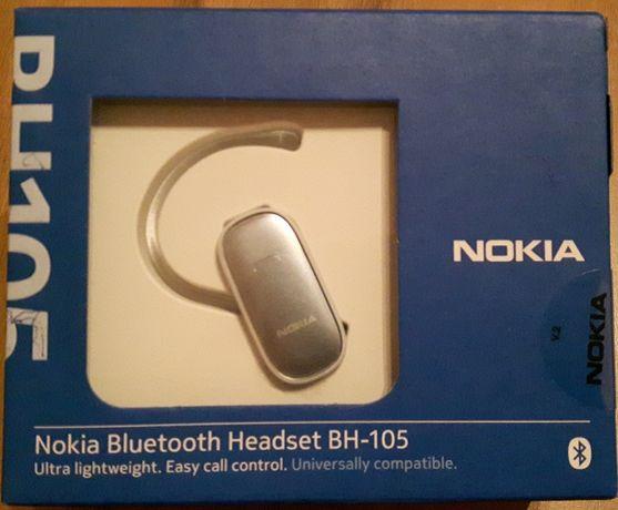 Auricular Bluetooth Nokia BH-115 prateado