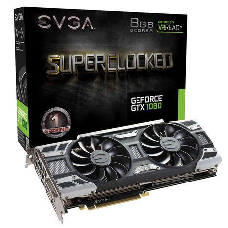 Видеокарта EVGA GeForce GTX 1080 SC GAMING, 8GB GDDR5X, ACX 3.0 & LED