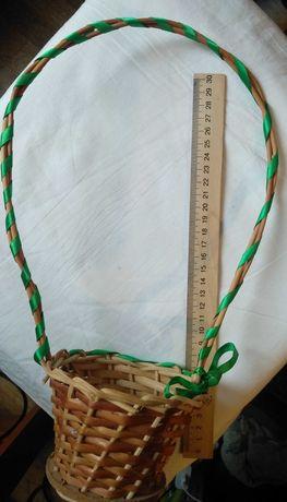 Корзина плетёная
