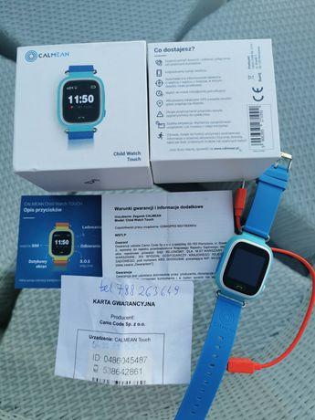 Child wach touch larta sim zegarek telefon dla dziecka GPS calmean