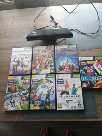 Kinect xbox360+gry
