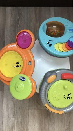 Игровой ,развивающий,музыкальный столик-барабан