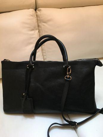 Skórzana torba damska