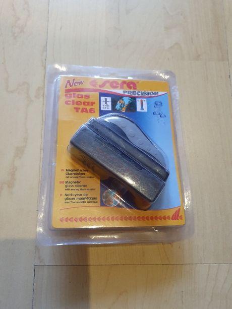 SERA czyścik magnetyczny z termometrem Glass clear do akwarium
