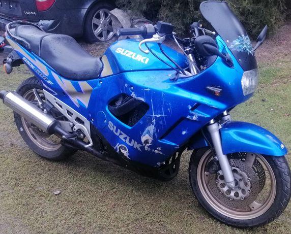 Suzuki gsxf600 gsx600f gsx 600f 600 750f 750 czesci lagi