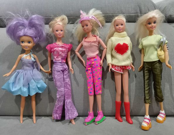 Barbie 5sztuk...