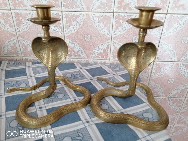 Castiçais de Bronze