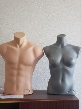 Манекен женский и мужской 40грн/шт