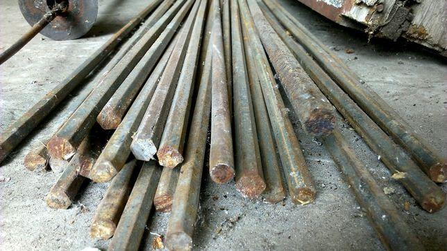 Пруты граненные на14 и19 под ключ, спец. метал