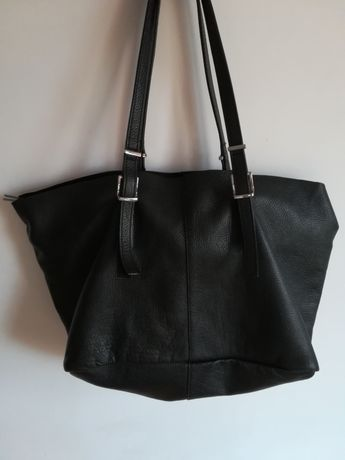 Skórzana torebka Zara bag