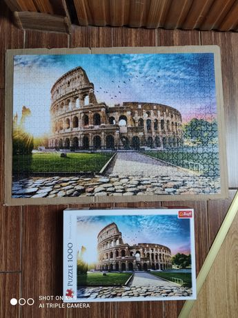 Puzzle 1000el Trefl Koloseum w promieniach słońca